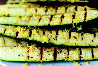 BBQ Grilled Zucchini | Ideal Protein Recipes Naperville Plainfield Illinois