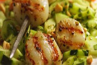 Chili Crusted Scallops | Ideal Protein Recipes Naperville Plainfield