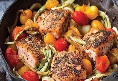 Pan Roasted Salmon | Ideal Protein Recipes Naperville Plainfield Bolingbrook Illinois
